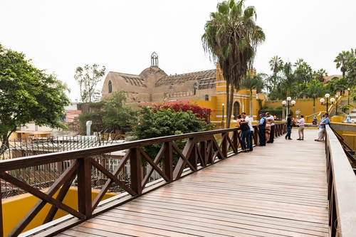 Cultural tour over Barranco District in Lima